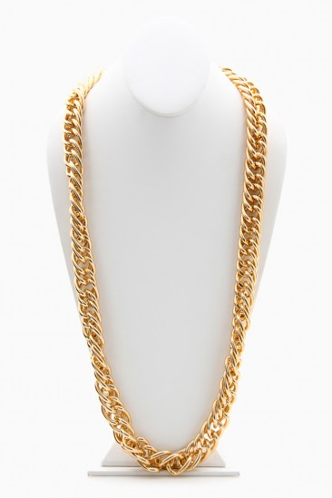 LoveMelrose.com From Harry & Molly   TWISTED CHUNKY CHAIN NECKLACES - UNISEX