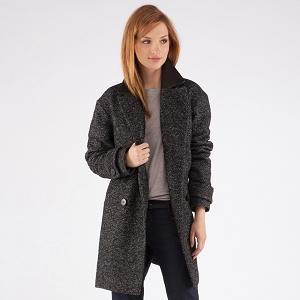 Over-size coat | Coats and jackets | Comptoir des Cotonniers