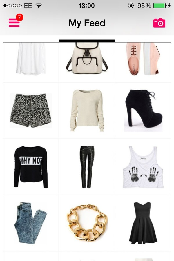 shoes bag jewels jeans sweater shorts dress t-shirt