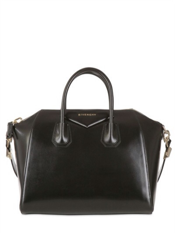 bag givenchy black leather