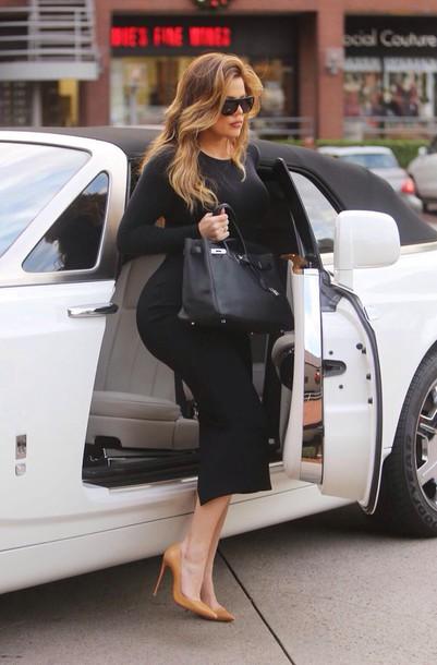 dress hermes khloe kardashian
