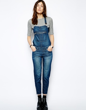 Blank | Blank NYC Dungarees With Zip Detail at ASOS
