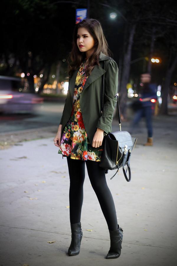 fake leather dress coat bag jewels shoes