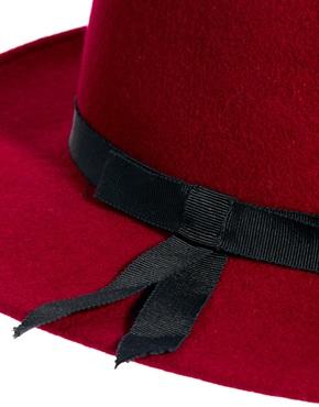 Laird   Laird V Crown Fedora Hat at ASOS
