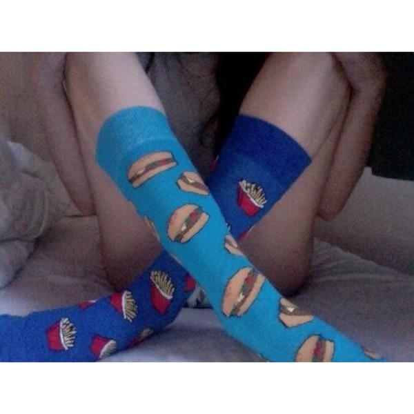 socks hamburger