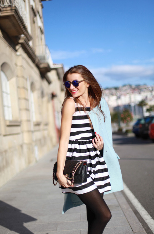 b a r t a b a c dress coat bag sunglasses shoes