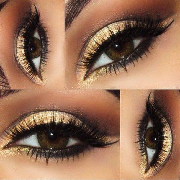make-up gold