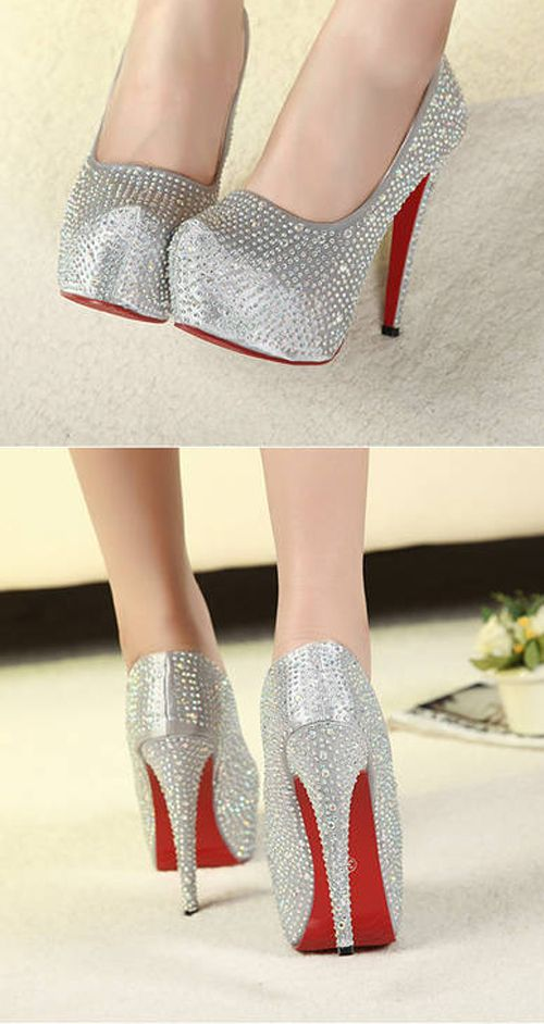 Glittering New Design High Heels Platform Women Pumpss - DualShine