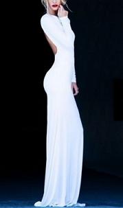 Hour Glass Evening Dress - Juicy Wardrobe