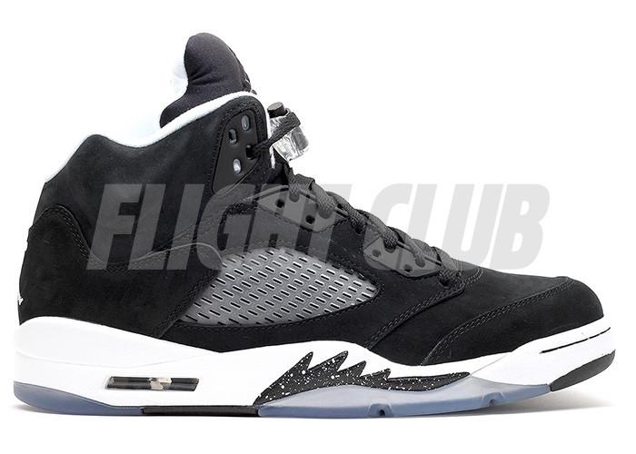 "air jordan 5 retro ""oreo"" - black/cool grey-white - Air Jordan 5 - Air Jordans  | Flight Club"