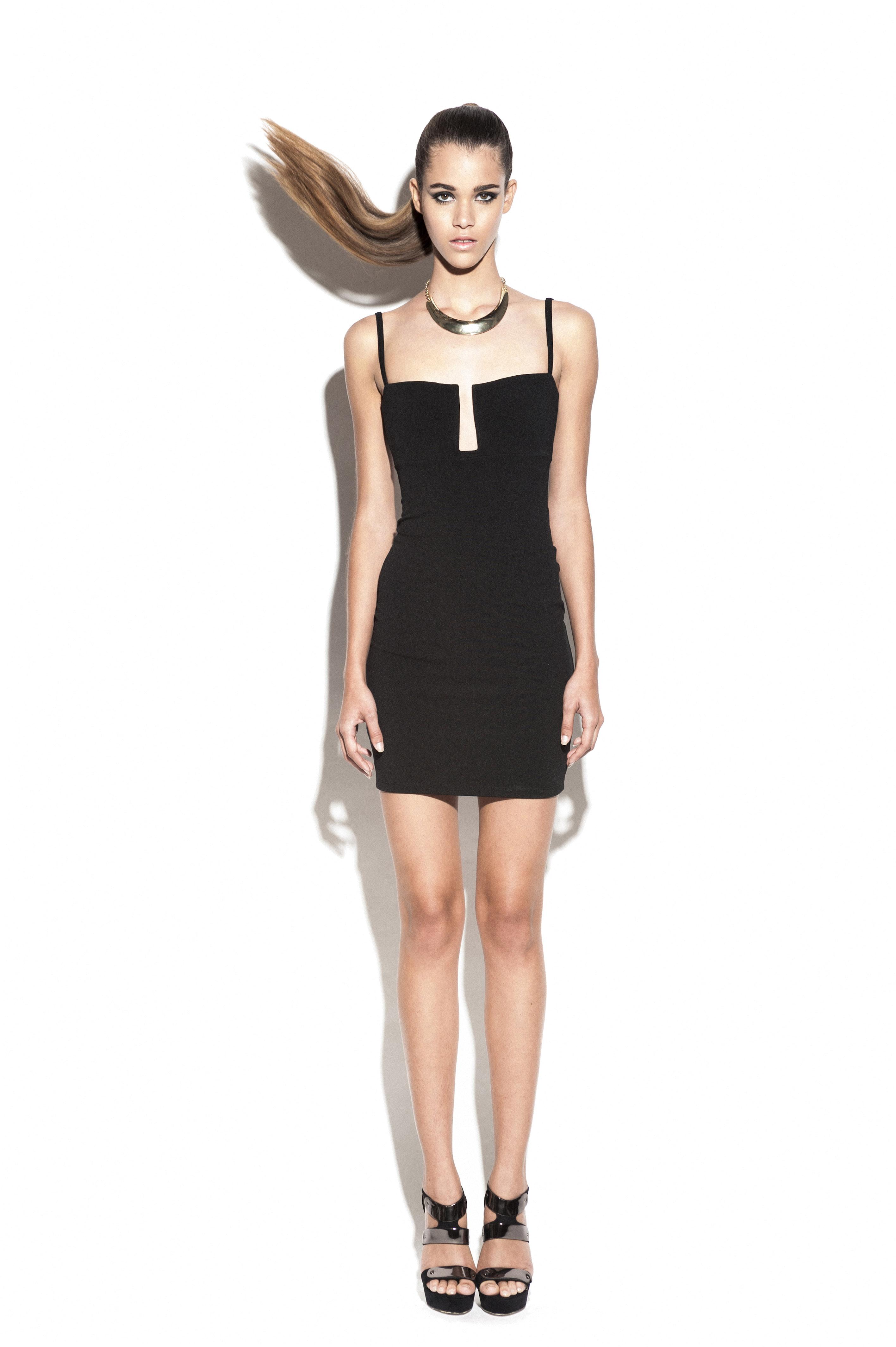 Black Stadium Bustier Dress : Buy Designer Dresses Online at Nookie