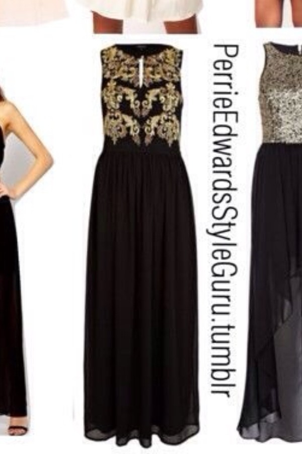 dress prom prom dress long prom dress black dress gold dress gold details