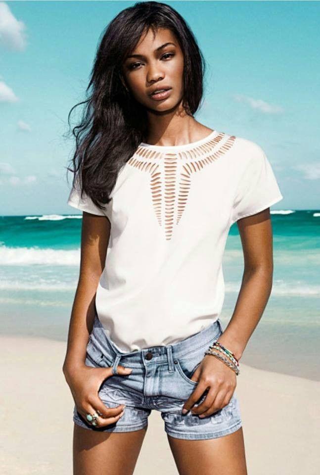 Summer 2014 Women Crochet Chiffon Blouse Top Slim Asymmetric White Sexy Hot | eBay