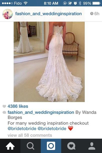 wedding dress prom gown lace dress dress