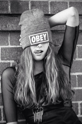 hat obey fashion