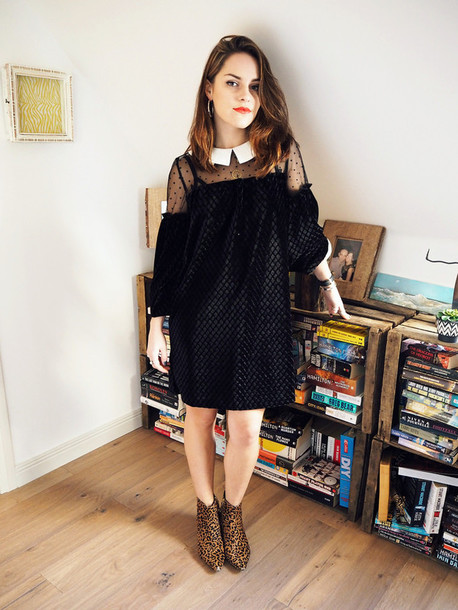 the little magpie blogger t-shirt dress shoes