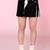 Glitters For Dinner — Made To Order - Black PVC Skirt