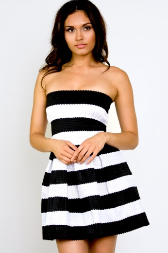 Banded Party Dress