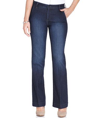 NYDJ Wynonna Trouser Jeans, La Crescenta Wash - Jeans - Women - Macy's