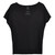 womens organic cotton oversized tee black - Wildlife Works - Carbon Neutral Sustainable Fashion
