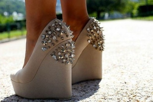 shoes spikes wedges high heels cute high heels nude high heels