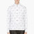 krisvanassche white paisley pattern button down shirt