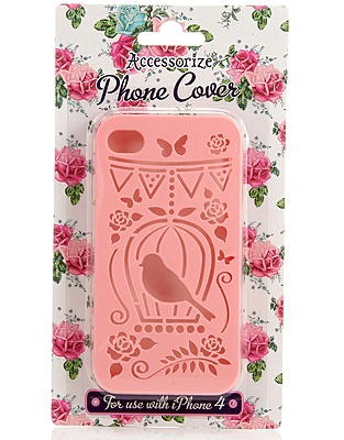 ASOS Fashion Finder | Birdcage Cut Out iPhone 4 Cover