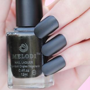 Free shipping Melodi scrub matt eternal classic black eco friendly quick dry nail polish oil 08-inNail Polish from Beauty & Health on Aliexpress.com