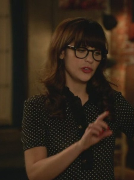 top new girl jess day zooey deschanel