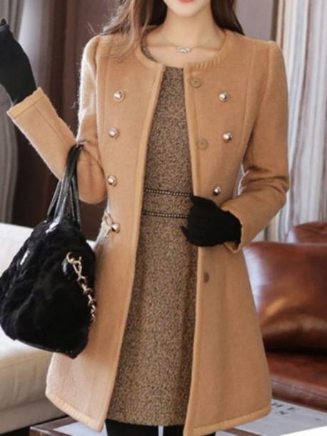 coat wool elegant women nice elegant dress camel coat