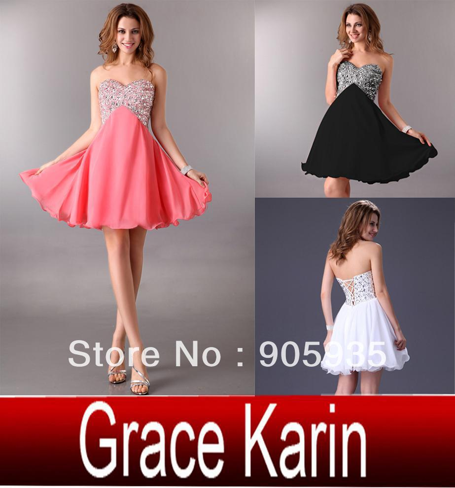 Free Shipping 1pc/lot 2013 Fashion New Sexy Stunning Strapless Prom Gown Evening party Dress, Club Mini Dress CL4105-in Party Dresses from Apparel & Accessories on Aliexpress.com