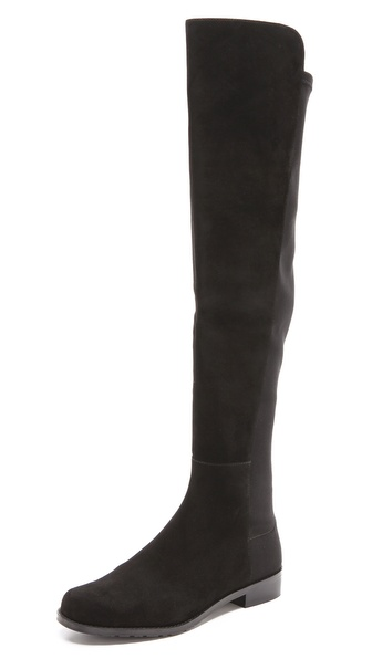 Stuart Weitzman 5050 Stretch Suede Boots |SHOPBOP | Save up to 25% Use Code BIGEVENT13