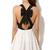 New Party Dress Women Sexy Criss Cross Back Hollow Bowknot Pleated Chiffon Dress | eBay
