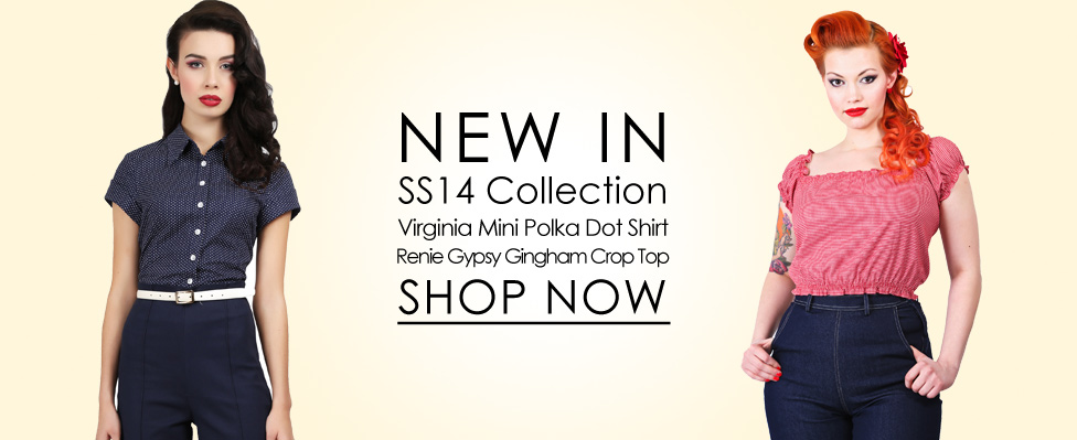 Collectif 40s and 50s Vintage Style Clothing and Rockabilly Collection   1940s Dresses   1950s Dress