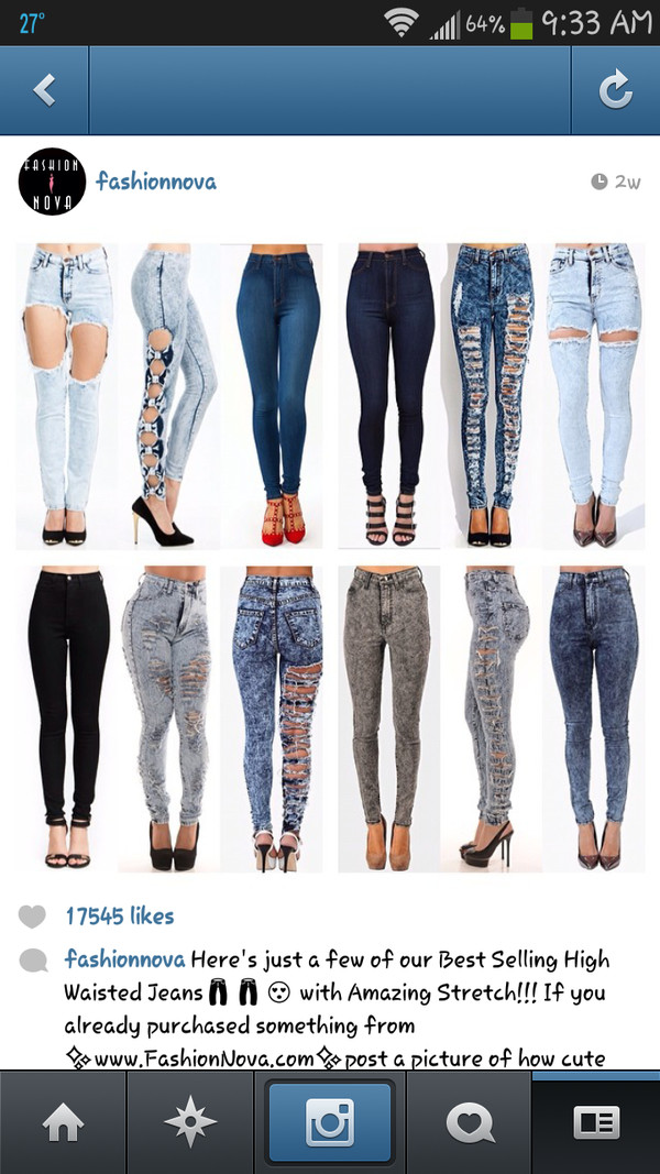 jeans all of them♥️♥️