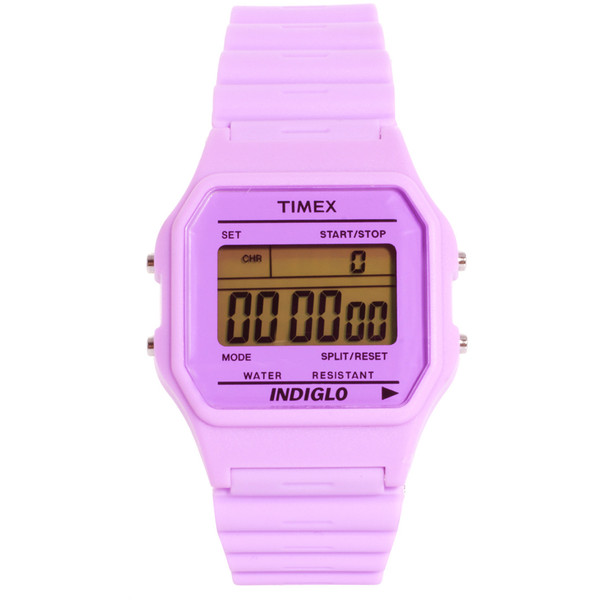 Timex 80 Pastel Purple Buckle Clasp Watch - Polyvore