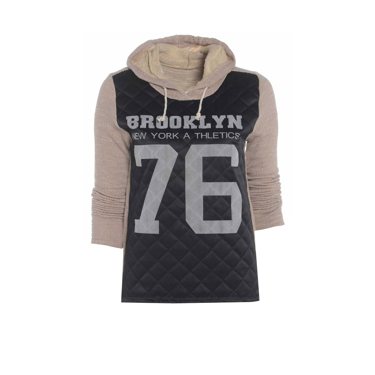 Alona jumper Brown, Black - Runway Fashion