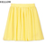 New Women Girl Retro High Waist Double Chiffon Short Skirt Mini Dress 8 Color O | eBay