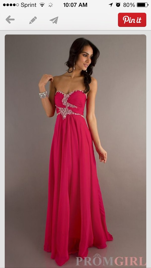 dress prom dress beaded long