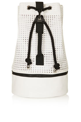 Perforated Duffle Bag - Backpacks - Bags & Wallets  - Bags & Accessories - Topshop USA