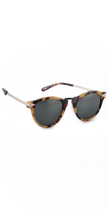 Karen Walker Helter Skelter Sunglasses   SHOPBOP