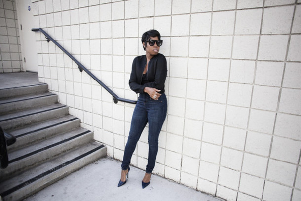 locks and trinkets blogger jeans black jacket