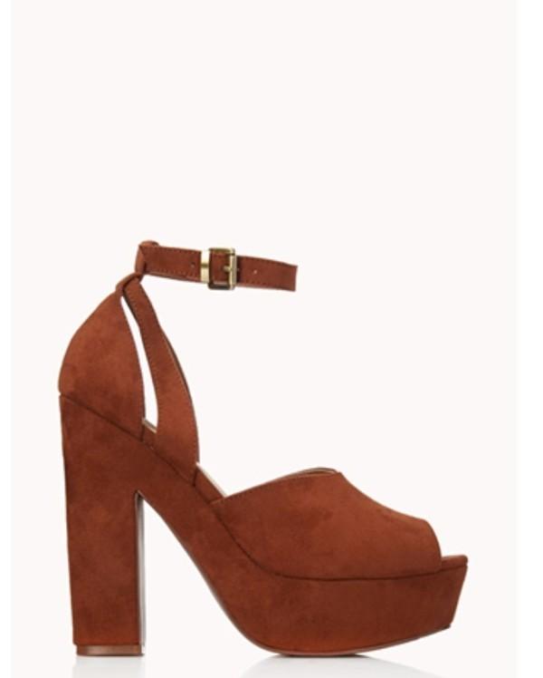 shoes heels platform sandals