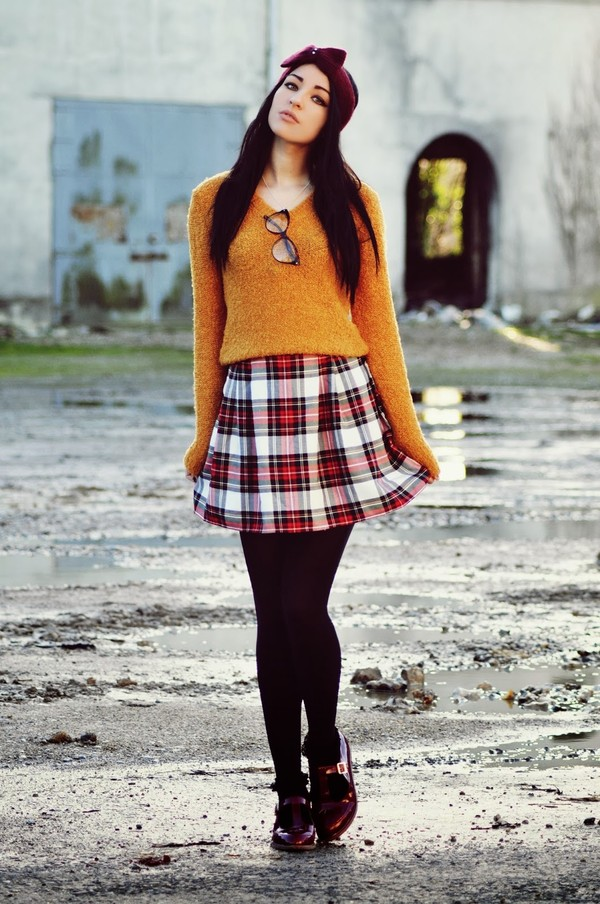 moon magik skirt sweater shoes