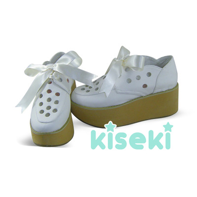 Creepers Shoes Platform Shoes Fairy Kei Sweet Lolita Hearts Pastel Colors  · Kiseki · Online Store Powered by Storenvy