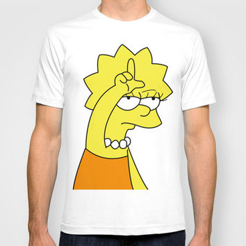 Lisa Simpson Loser T-shirt by hunnydoll on Wanelo