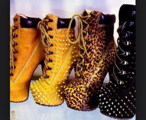 shoes timberland timberland boots shoes high heels leopard timberlands