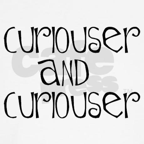 curiouser Women's Tank Top by AlanDarco_Wonderland_Curiouser