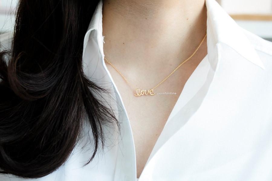 love letter necklaces/love necklaces/womens necklaces
