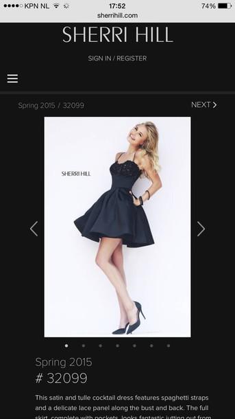 dress sherri hill cocktail dress lace dress sherri hill
